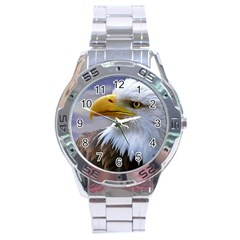 Bald Eagle Stainless Steel Watch (men s)