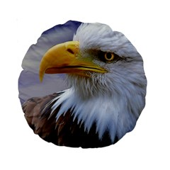 Bald Eagle 15  Premium Round Cushion