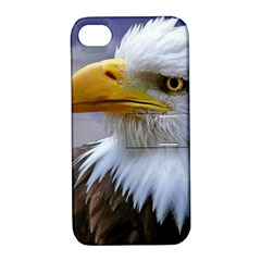 Bald Eagle Apple iPhone 4/4S Hardshell Case with Stand