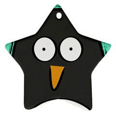 penguin Star Ornament (Two Sides)