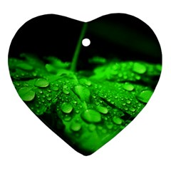 Waterdrops Heart Ornament