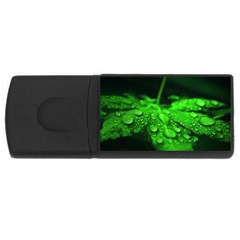 Waterdrops 4GB USB Flash Drive (Rectangle)