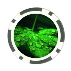 Waterdrops Poker Chip 10 Pack