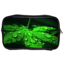 Waterdrops Travel Toiletry Bag (one Side)