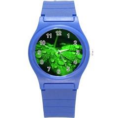 Waterdrops Plastic Sport Watch (Small)