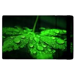 Waterdrops Apple Ipad 2 Flip Case