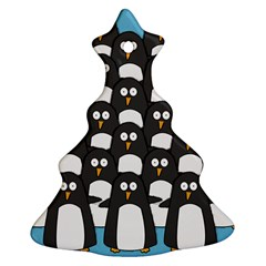 Penguin Group Christmas Tree Ornament