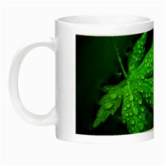 Leaf With Drops Glow in the Dark Mug