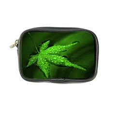 Leaf With Drops Coin Purse
