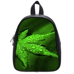 Leaf With Drops School Bag (Small)