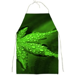Leaf With Drops Apron