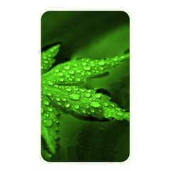 Leaf With Drops Memory Card Reader (Rectangular)