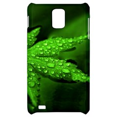 Leaf With Drops Samsung Infuse 4G Hardshell Case