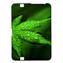 Leaf With Drops Kindle Fire HD 8.9  Hardshell Case