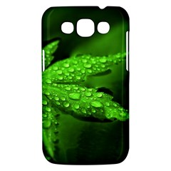 Leaf With Drops Samsung Galaxy Win I8550 Hardshell Case