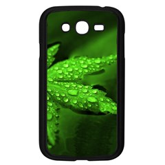 Leaf With Drops Samsung Galaxy Grand DUOS I9082 Case (Black)