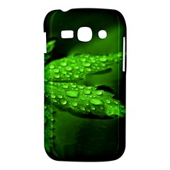 Leaf With Drops Samsung Galaxy Ace 3 S7272 Hardshell Case