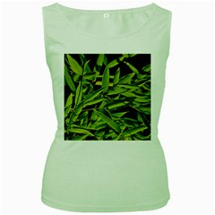 Bamboo Womens  Tank Top (green)