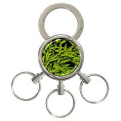 Bamboo 3-Ring Key Chain