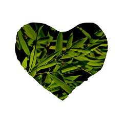 Bamboo 16  Premium Heart Shape Cushion