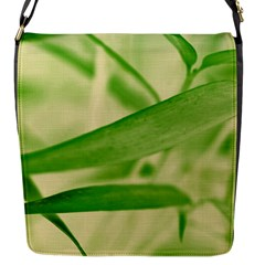 Bamboo Flap closure messenger bag (Small)