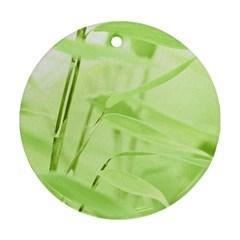 Bamboo Round Ornament