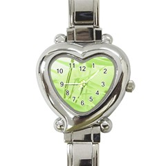 Bamboo Heart Italian Charm Watch