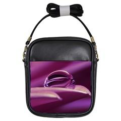 Waterdrop Girl s Sling Bag