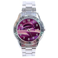 Waterdrop Stainless Steel Watch (Men s)