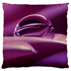 Waterdrop Large Cushion Case (Two Sided)