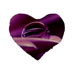 Waterdrop 16  Premium Heart Shape Cushion