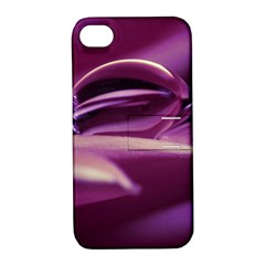 Waterdrop Apple iPhone 4/4S Hardshell Case with Stand