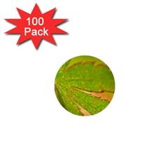 Leaf 1  Mini Button (100 pack)