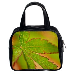Leaf Classic Handbag (two Sides)