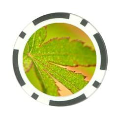 Leaf Poker Chip 10 Pack