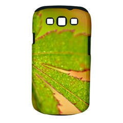 Leaf Samsung Galaxy S III Classic Hardshell Case (PC+Silicone)
