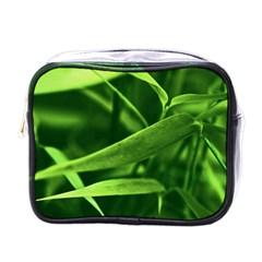 Bamboo Mini Travel Toiletry Bag (One Side)
