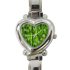 Magic Balls Heart Italian Charm Watch