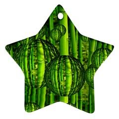 Magic Balls Star Ornament (Two Sides)