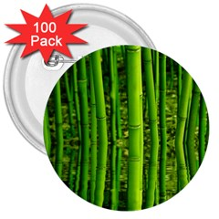 Bamboo 3  Button (100 pack)