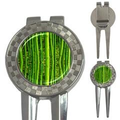 Bamboo Golf Pitchfork & Ball Marker