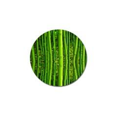 Bamboo Golf Ball Marker