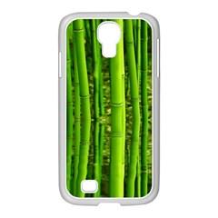 Bamboo Samsung GALAXY S4 I9500/ I9505 Case (White)