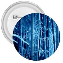 Blue Bamboo 3  Button
