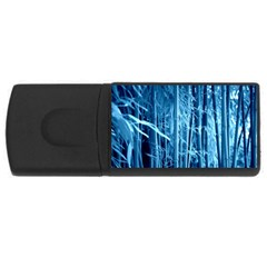 Blue Bamboo 1GB USB Flash Drive (Rectangle)