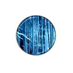 Blue Bamboo Golf Ball Marker (for Hat Clip)