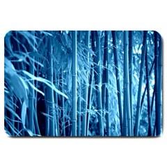 Blue Bamboo Large Door Mat