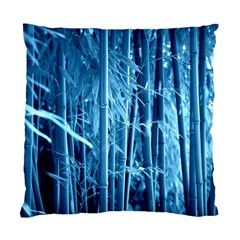 Blue Bamboo Cushion Case (Two Sided)