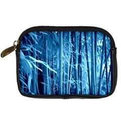 Blue Bamboo Digital Camera Leather Case