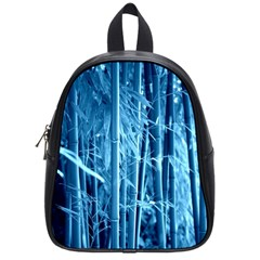 Blue Bamboo School Bag (Small)